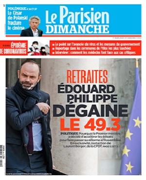 Le Parisien Du Dimanche 1er Mars 2020