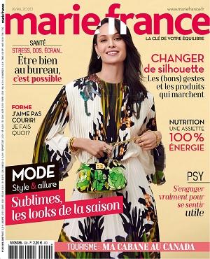Marie France N°289 – Avril 2020