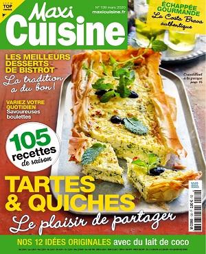 Maxi Cuisine N°139 – Mars 2020