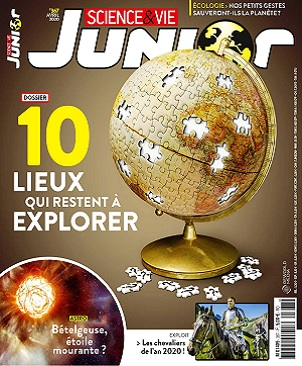 Science et Vie Junior N°367 – Avril 2020