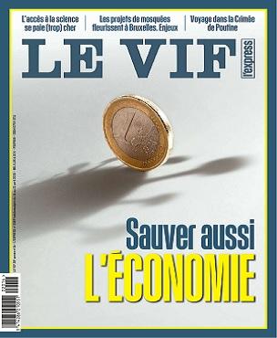 Le Vif L'Express N°3589 Du 16 Avril 2020
