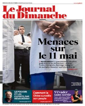 Le Journal Du Dimanche N°3825 Du 3 Mai 2020