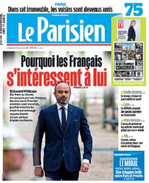 Le Parisien Du Vendredi 15 Mai 2020