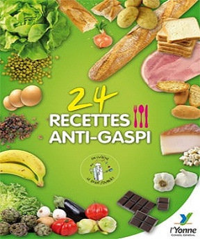 24 recettes anti-gaspi -Collectif
