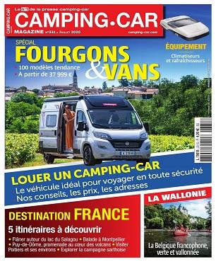 Camping-Car Magazine N°331 – Juillet 2020
