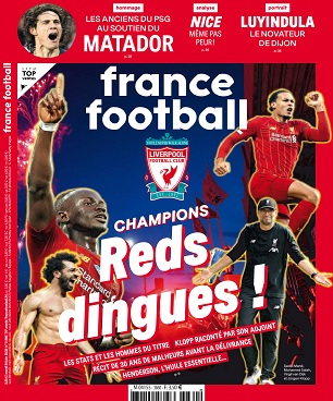 France Football N°3860 Du 30 Juin 2020