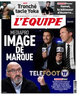 L'Equipe Du Mercredi 3 Juin 2020