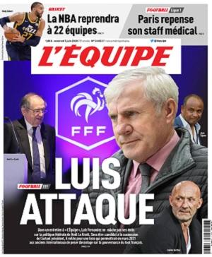 L'Equipe Du Vendredi 5 Juin 2020