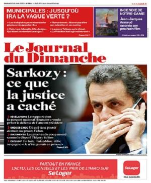 Le Journal Du Dimanche N°3833 Du 28 Juin 2020