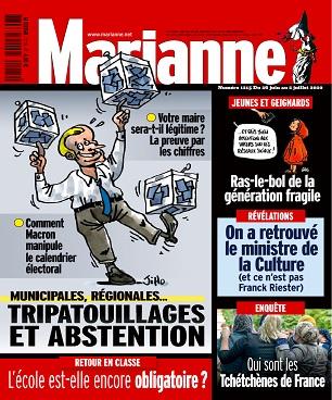 Marianne N°1215 Du 26 Juin 2020