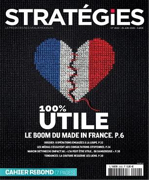Stratégies N°2042 Du 25 Juin 2020