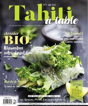 Tahiti à Table N°13 – Juin 2020