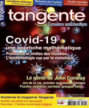 Tangente Magazine N°194 – Juin-Juillet 2020