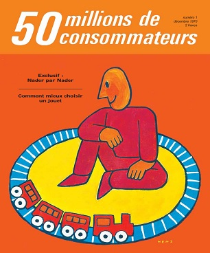 50 Millions De Consommateurs N°1 – Décembre 1970