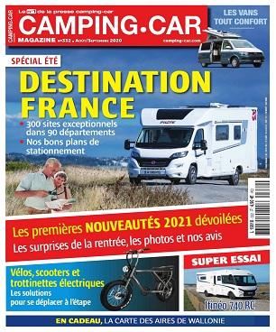 Camping-Car Magazine N°332 – Août-Septembre 2020