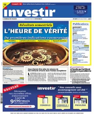 Investir N°2429 Du 25 Juillet 2020