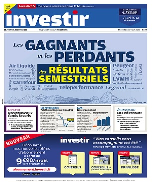 Investir N°2430 Du 1er Août 2020