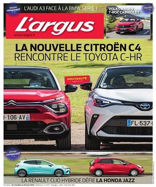 L'Argus N°4577 Du 23 Juillet 2020