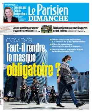 Le Parisien Du Dimanche 12 Juillet 2020