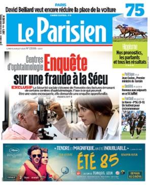 Le Parisien Du Lundi 13 Juillet 2020