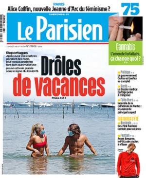 Le Parisien Du Lundi 27 Juillet 2020