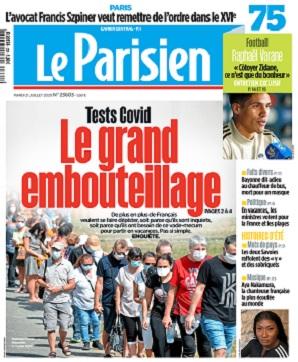 Le Parisien Du Mardi 21 Juillet 2020