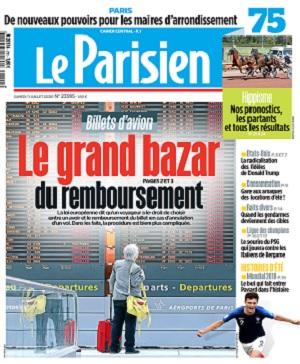 Le Parisien Du Samedi 11 Juillet 2020
