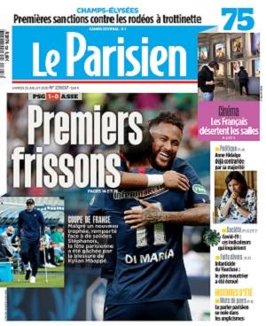 Le Parisien Du Samedi 25 Juillet 2020