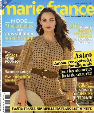 Marie France N°292 – Août 2020