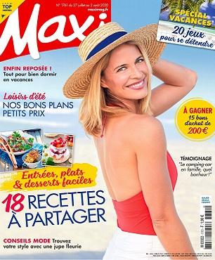 Maxi N°1761 Du 27 Juillet 2020