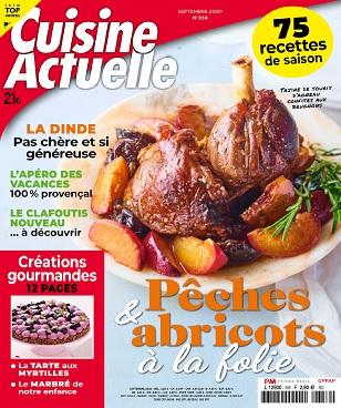 Cuisine Actuelle N°356 – Septembre 2020