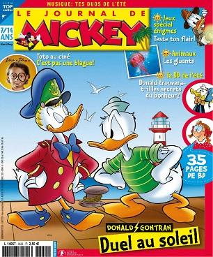 Le Journal De Mickey N°3555 Du 5 Août 2020