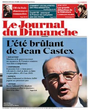 Le Journal Du Dimanche N°3838 Du 2 Août 2020
