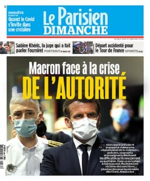 Le Parisien Du Dimanche 30 Août 2020