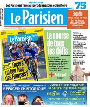 Le Parisien Du Vendredi 29 Août 2020