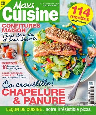 Maxi Cuisine N°143 – Septembre 2020