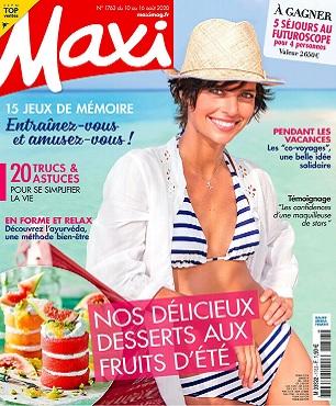 Maxi N°1763 Du 10 au 16 Août 2020