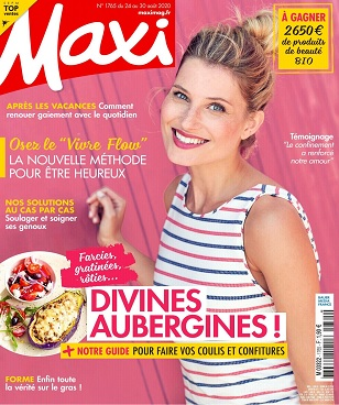 Maxi N°1765 Du 24 au 30 Août 2020