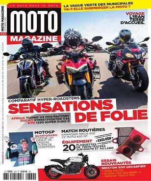 Moto Magazine N°369 – Septembre 2020