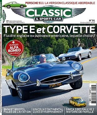 Classic et Sports Car N°91 – Octobre 2020