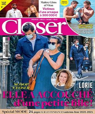 Closer N°796 Du 11 au 17 Septembre 2020