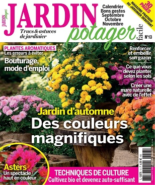 Jardin Potager Facile N°13 – Septembre-Novembre 2020