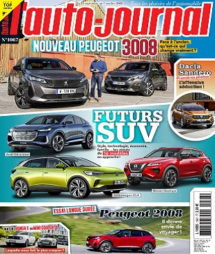L'Auto-Journal N°1067 Du 24 Septembre 2020