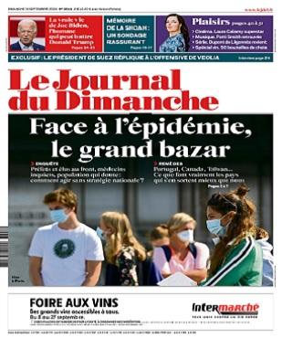 Le Journal Du Dimanche N°3844 Du 13 Septembre 2020