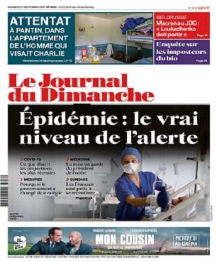 Le Journal Du Dimanche N°3846 Du 27 Septembre 2020