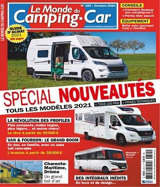 Le Monde Du Camping-Car N°325 – Octobre 2020