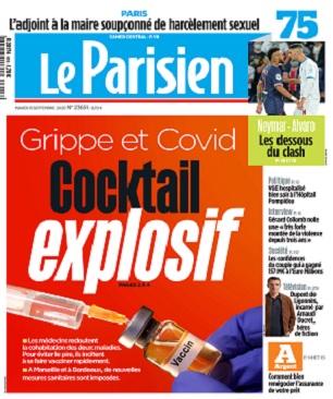 Le Parisien Du Mardi 15 Septembre 2020