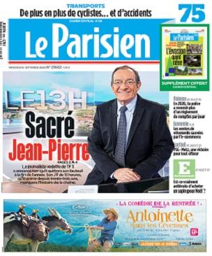 Le Parisien Du Mercredi 16 Septembre 2020