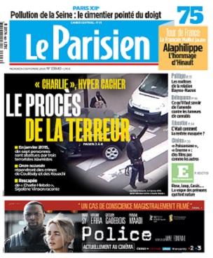 Le Parisien Du Mercredi 2 Septembre 2020
