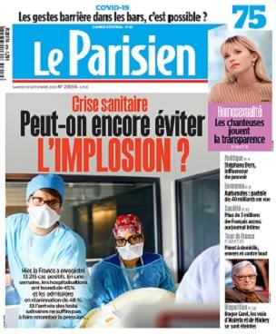 Le Parisien Du Samedi 19 Septembre 2020